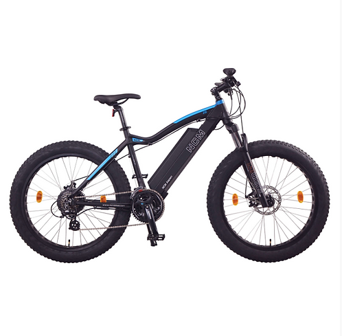 NCM Aspen Plus Fat Electric Bike,E-Bike, 48V 16Ah 250W, E-MTB 768Wh Battery