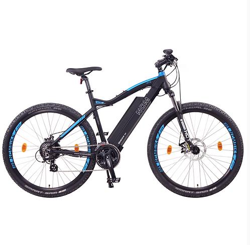 NCM Moscow Electric Mountain Bike,E-Bike, 250W, E-MTB, 48V 13Ah 624Wh Battery [B