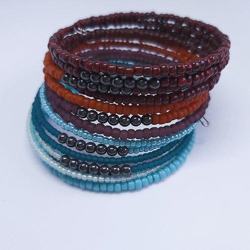 Boho Chic Toho Wrap Bracelets
