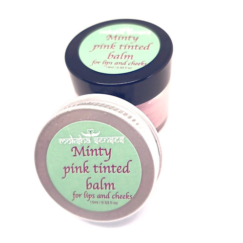 Minty Pink Tinted Balm for lips and cheeks