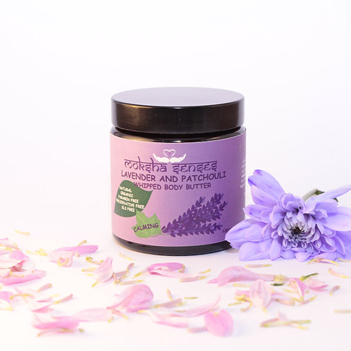 Lavender & Patchouli Whipped Body Butter