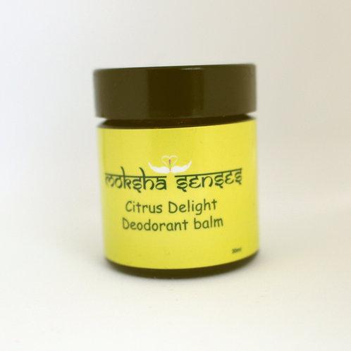 Citrus Delight Deodorant Balm