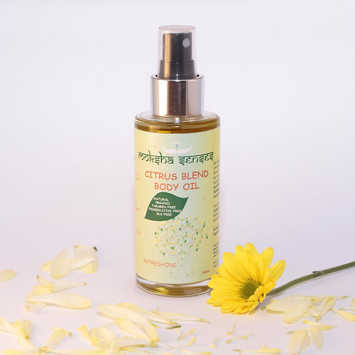 Organic Citrus Blend Body Oil