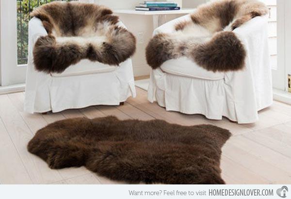 9 Natural New Zealand Sheepskin Rugs