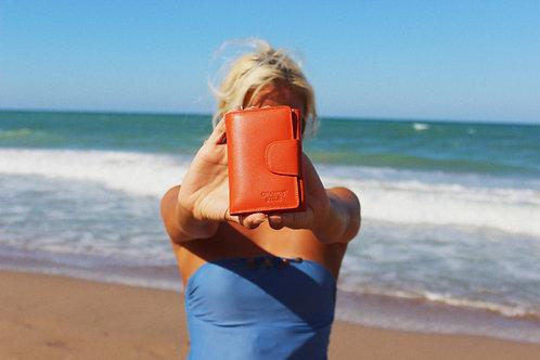 Малко дамско портмоне GRANDE от естествена кожа