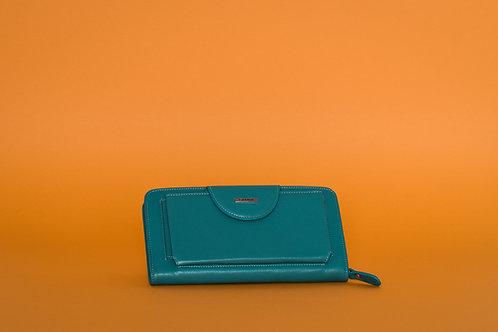 Дамско портмоне GRANDE  от естествена кожа с джоб за телефон