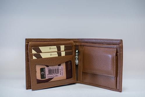 Мъжки портфейл GRANDE от естествена кожа
