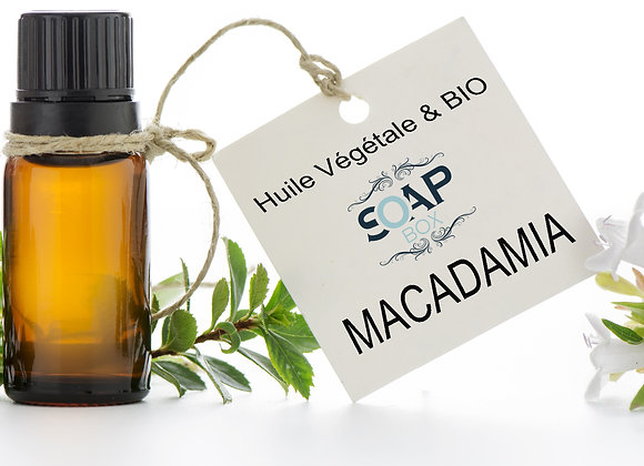 Huile de Macadamia Bio - SoapBox