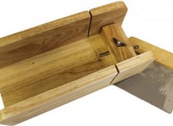 Coupe Savon réglable en bois