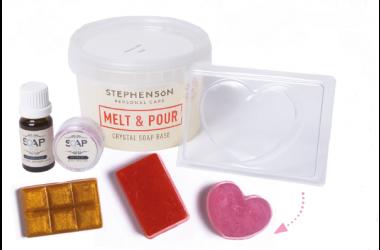 Melt and pour soapbox pour Marie-Claire Idées