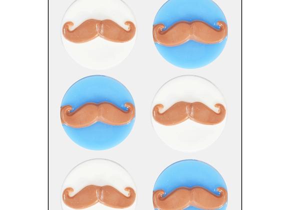 Mini moule à savon Moustache