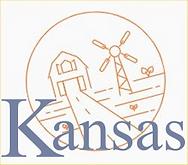 Copeland Kansas 67837 - Kansas Wheatfield Logo
