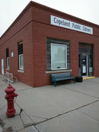 Copeland Kansas Public Library circa 2020