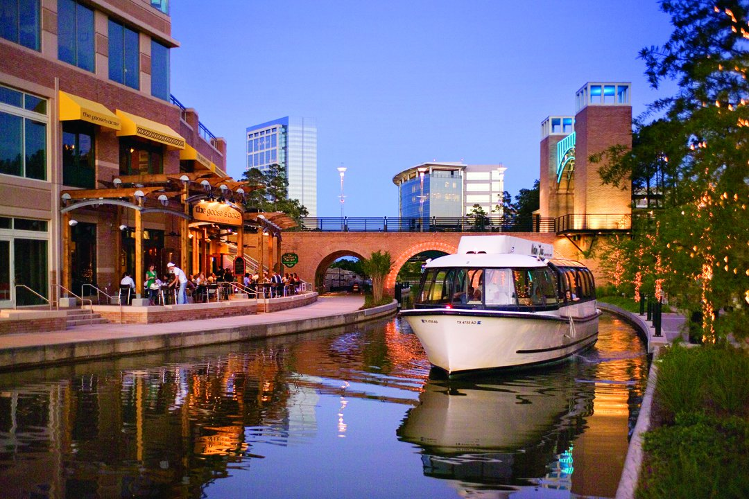 Woodlands Waterway Canal