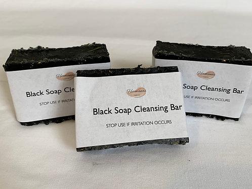 Black Soap Cleansing Bar