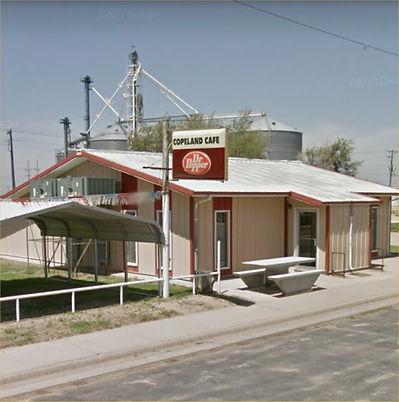 Copeland Cafe in Copeland Kansas 67837 circa 2020