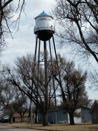 Copeland Kansas Water Tower