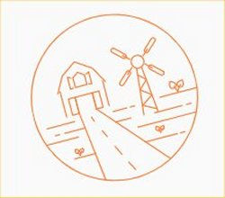 Copeland Kansas Windmill Illustration
