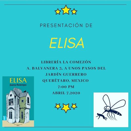 Nuestra primera presentación del año es en una librería bellísima de Querétaro, México. ¡Los esperam