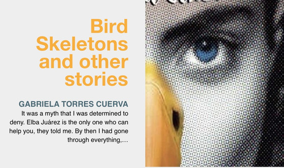Bird Skeletons and other stories, an excerpt of the most recent book by Gabriela Torres Cuerva. lite