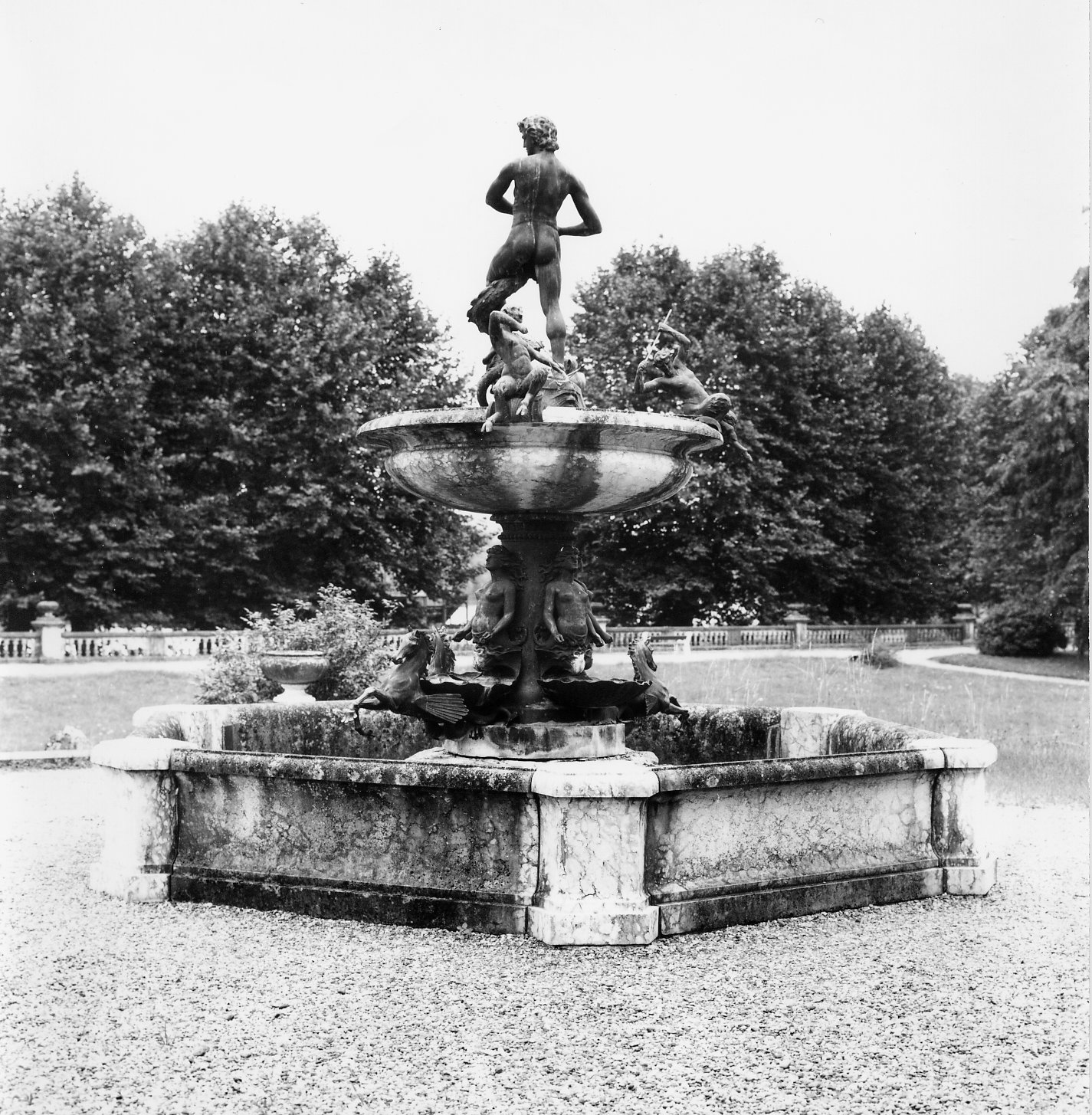 La fontaine d'Apollon