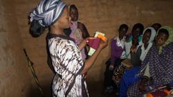 Girl Ambassador teaching young girls