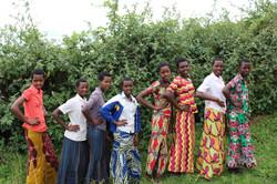 Girls in the KGIS program