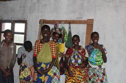Schoolgirls with kits
