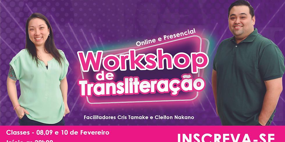 Workshop de Transliteração