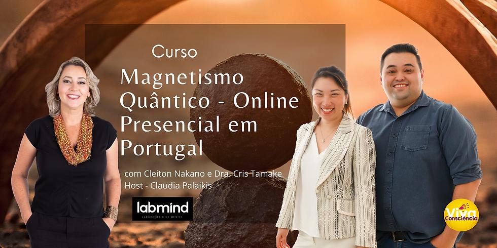 Curso Magnetismo Quântico -  ONLINE / PRESENCIAL EM CASCAIS PORTUGAL
