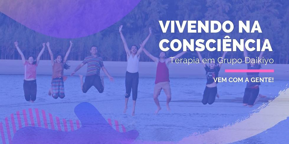 Vivendo na Consciência -  Terapia em Grupo 8 Semanas  - Online