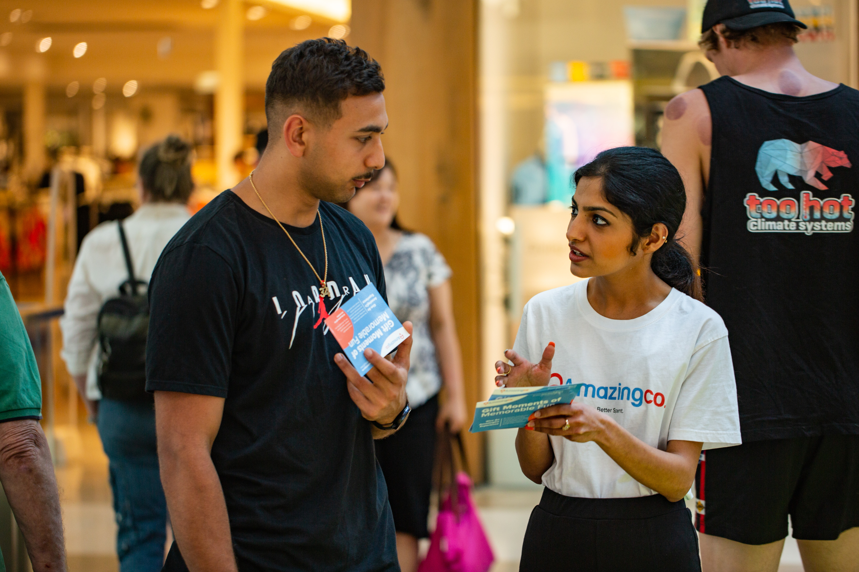 Brand Experience, Activation and Experiential Agency Sampling Activity