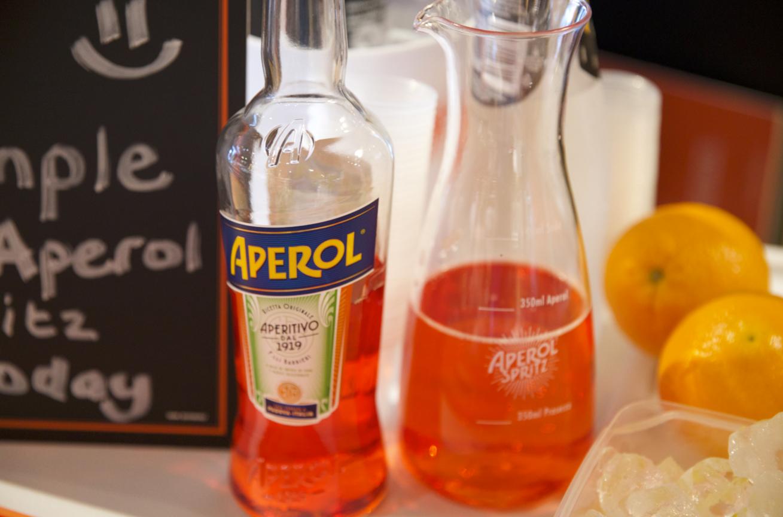Aperol Spritz Off Premise Sampling