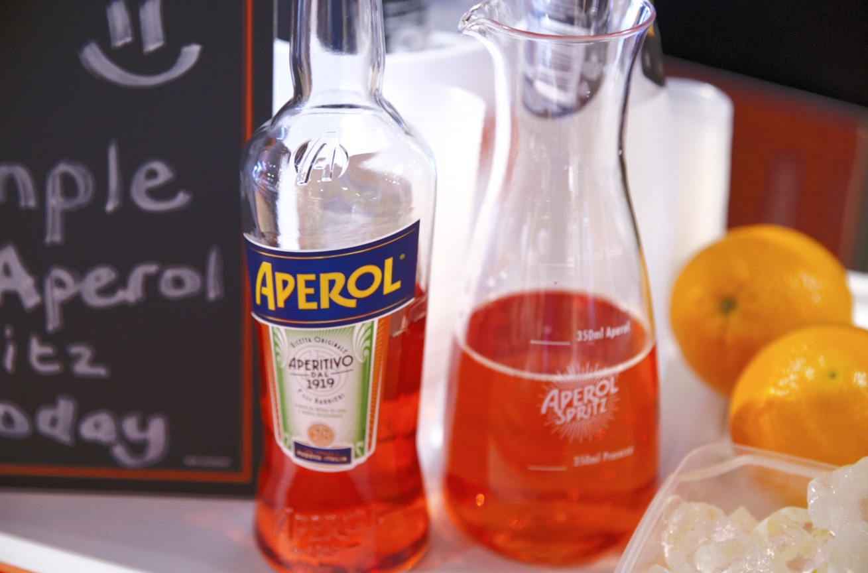 Aperol Sampling