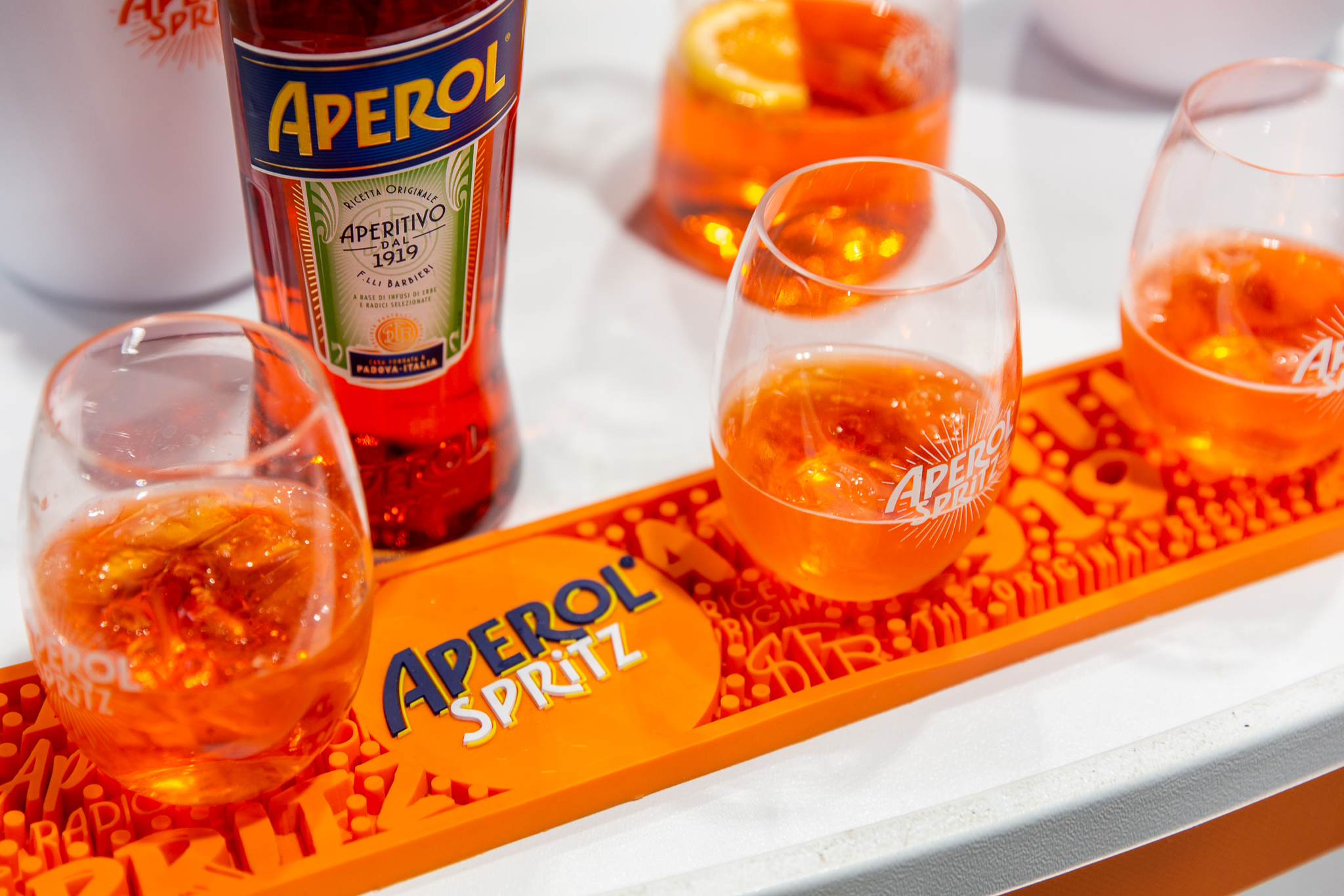 Aperol Spritz Off Premise Sampling