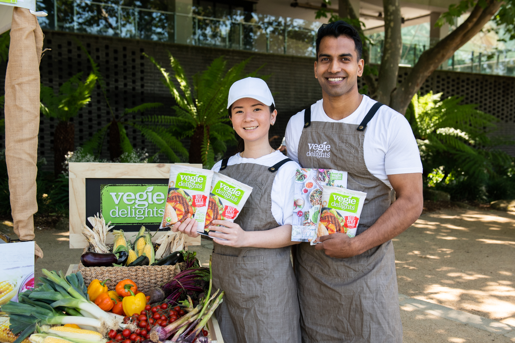 Vegie Delights Fed Sq Team