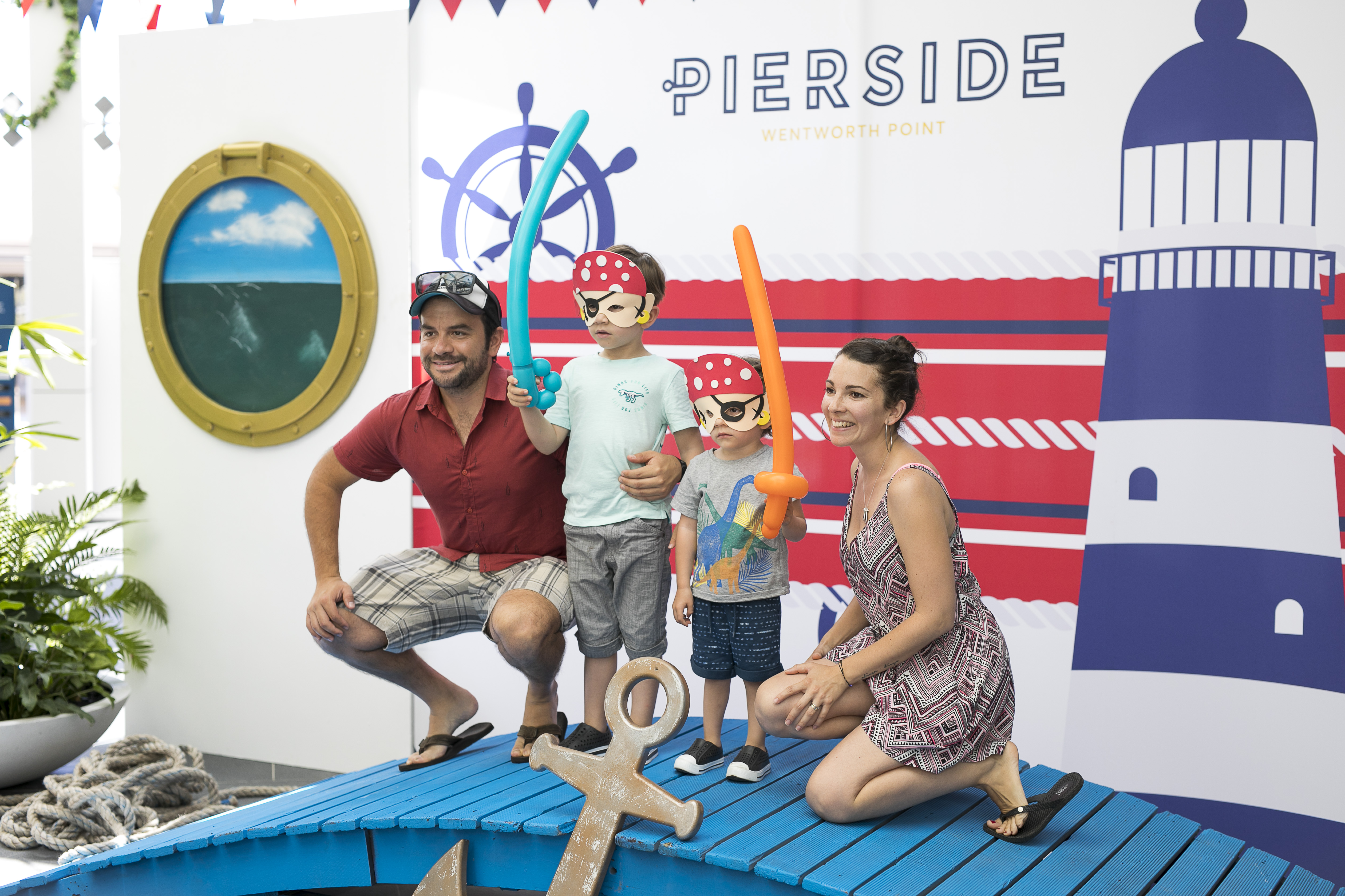Pierside Launch Event