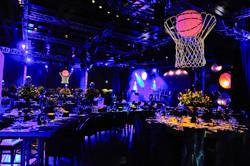 LA Lakers Basketball Court