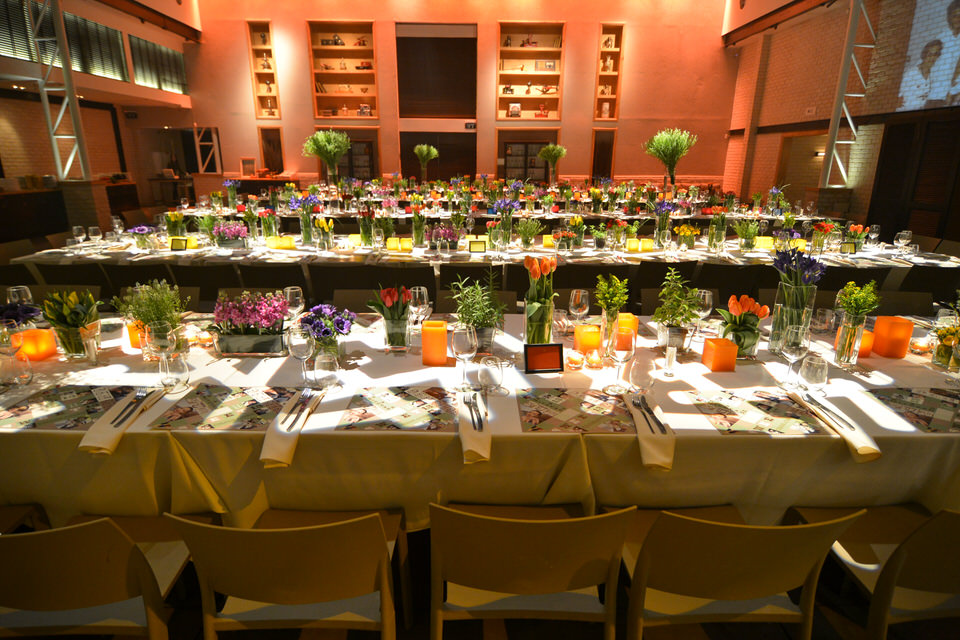 Colorful Winter Blooming Barmitzvah