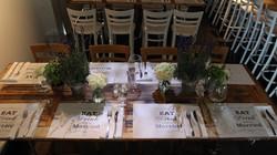 Greek-Parisian Bistro Wedding