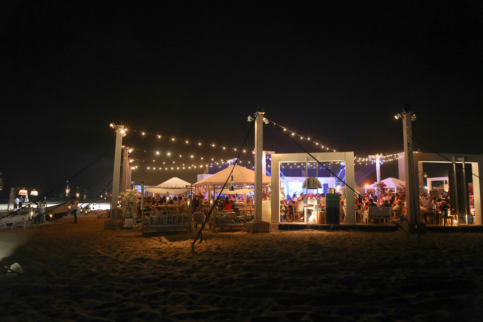 Beach Party   Greek Fishing Village
