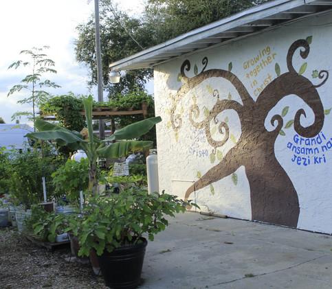 Misión Peniel garden