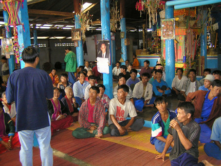 Lessons Learned in Thailand about working with organizations and farmer/gardener communities