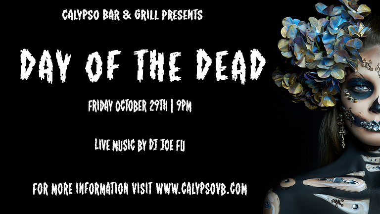 Day of the Dead with DJ Joe Fu