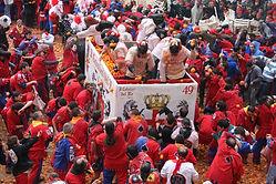 Тур на Апельсиновый Карнавал в Иврее (Турин) - Гид в Турине Людмила Экскурсии - www.italtour.org