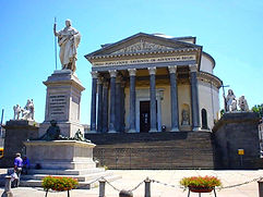 Турин Церковь Великой Богоматери - Гид в Турине Людмила Экскурсии - www.italtour.org