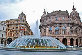 Génova Plaza Ferrari - Excursión tour por Génova - Liudmila, guía turística oficial en Italia, excursiones - es.italtour.org