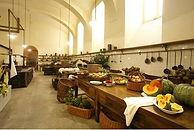 Castello di Racconigi - Cucine - Экскурсии по Савойским королевским резиденциям - Гид в Турине Людмила Экскурсии – www.italtour.org