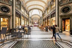 Turin - Galleria San Federico  - Обзорная экскурсия по Турину - Гид в Турине Людмила Экскурсии - www.italtour.org