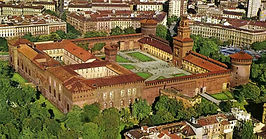 Milano - Castello Sforzesco  - Людмила Гид в Милане, Экскурсия по Милану - www.italtour.org